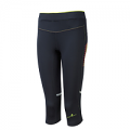 RonHill Ladies Stride Stretch Capri Black/Fluo Yellow