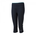 RonHill Ladies Stride Stretch Capri Black/Peppermint
