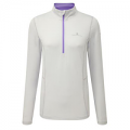 RonHill Base Ladies Thermal 200 1/2 Zip Cloud/Lilac