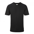 RonHill Mens Everyday Plain Short Sleeve Tee Black