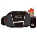 OMM Ultra Waist Pouch (With Bottle) Grey/Black