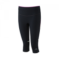RonHill Ladies Stride Stretch Capri Black/Thistle