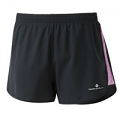 RonHill Ladies Momentum Glide Short Black/Thistle