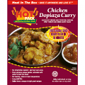 Hot Pack Chicken Dopiaza Curry Box Meal