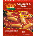 Hot Pack Sausage and Beans Box Meal