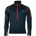 OMM Contour Race Fleece Mens Black and Orange