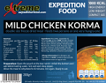 Extreme Expedition Food Mild Chicken Korma 1000 Kcal