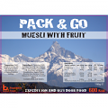 Pack N Go 600 Kcal Expedition Food Healthy Fruit Muesli