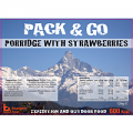 Pack N Go 600 Kcal Expedition Food Porridge & Strawberries