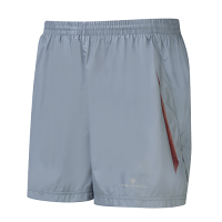 RonHill Advance 5 inch Shorts Granite/Maroon