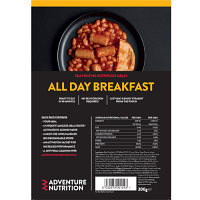 Self Heating complete pack, Ready to Eat All Day Breakfast