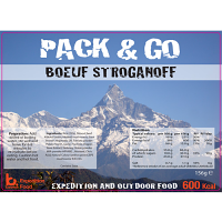 Pack N Go 600 Kcal Expedition Food Beef Stroganoff