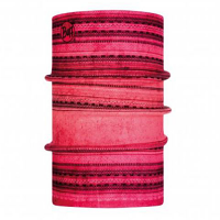 Buff Reversible Polar Tubular Kadri Fuchsia