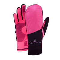 RonHill Convertible Glove Black/Fluo Pink