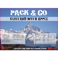Pack N Go 600 Kcal Expedition Food Custard with Apple