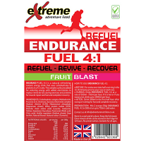 Extreme Adventure Food Endurance Fuel 4:1 Fruit Blast