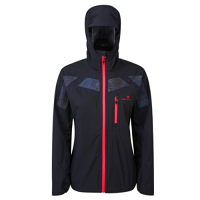 Ronhill Ladies Infinity Nightfall Jacket Black/Reflect AW19