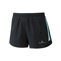 RonHill Ladies Momentum Glide Short Black/Surf