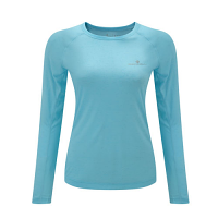 RonHill Ladies Momentum Long Sleeve Tee Surf