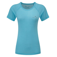 RonHill Ladies Momentum Short Sleeve Tee Surf