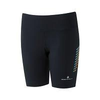 RonHill Ladies Stride Stretch Short Black/Surf