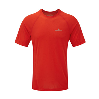 RonHill Mens Momentum Short Sleeve Tee Flame