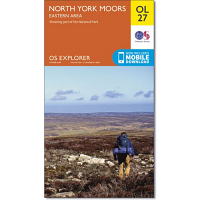 Ordnance Survey OL 27 North Yorkshire Moors Eastern Area 1:25 000