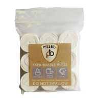 Pits & Bits Expandable Wipes
