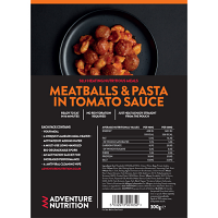 Self Heating complete pack, Meatballs and Pasta in Tomato sauce