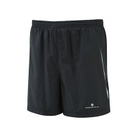 RonHill Mens Advance 5 inch Short All Black
