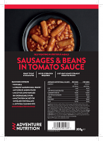 Self Heating complete pack, Sausage & Beans in Tomato Sauce