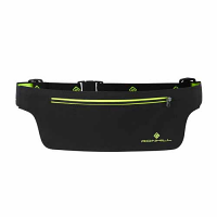 RonHill Slimline Belt Black/Fluo Yellow