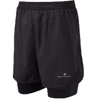 RonHill Mens Tech Revive 5 inch Twin Short Black