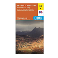 Ordnance Survey OL 7 English Lakes South East Area 1:25 000