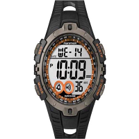 Timex Marathon Digital Full Size Black/Orange