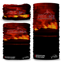 Fire + Ice Ultra The Volcano edition. Multifunction face wrap