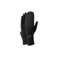 RonHill Wind-block Flip Glove All Black