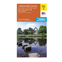 Ordnance Survey OL 2 Yorkshire Dales South Western 1:25 000