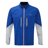 RonHill Mens Stride Windspeed Jacket Cobalt/Pebble